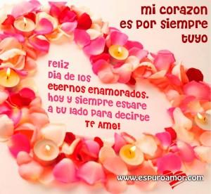 mejores imágenes para san valentin bonita tarjeta para obsequiar en este día de los enamorados.