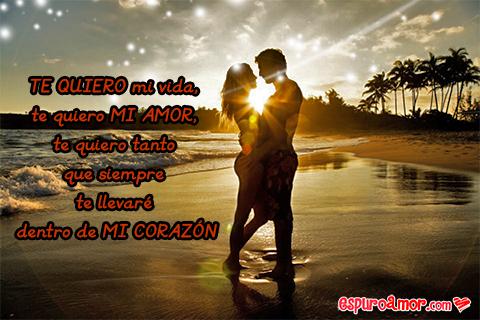 Imagen de amor con poemas para dedicar a tu pareja