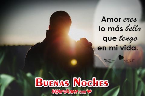 Buenas Noches Imágenes Tarjetas Y Frases Para Mi Amor