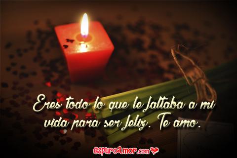 Tarjeta HD con Frase de Amor Romántica para Dedicar a Tu Pareja
