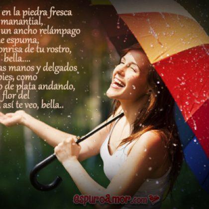 Imagen de Amor con Corto Poema para Dedicar en Facebook a una Diosa