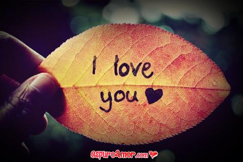 Frase de Amor en Lindas Imágenes con la Palabra Love para Compartir en Facebook