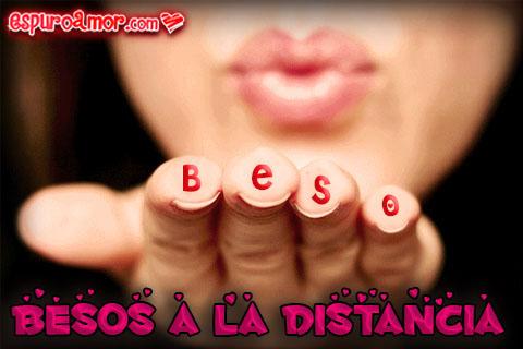 Labios diciendo con un beso todo