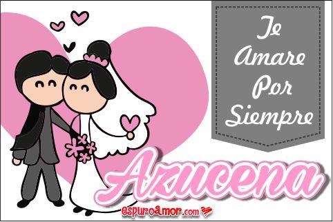 Imágenes de Amor gratis con Nombres de Mujeres letra A