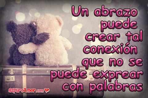 Lindos osos demostrando amistad y amor