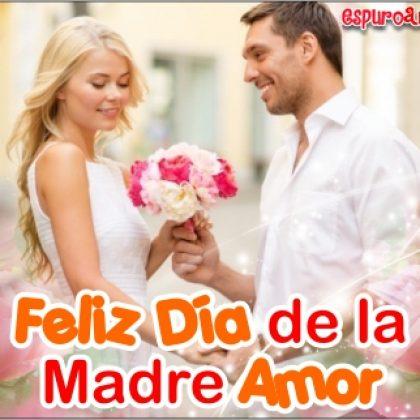 Imágenes del Día de la Madre para Esposa con Rosas