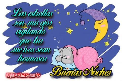 Frases de buenas noches con ositos soñadores