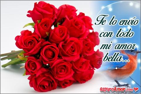 Hermosas Imágenes de Amor para Enviar Rosas Gratis