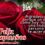 Rosas para el cumpleaños de mi princesa