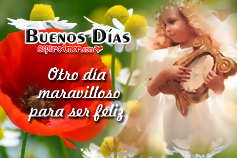 Bella princesa vestida de ángel con lindas flores de buenos días