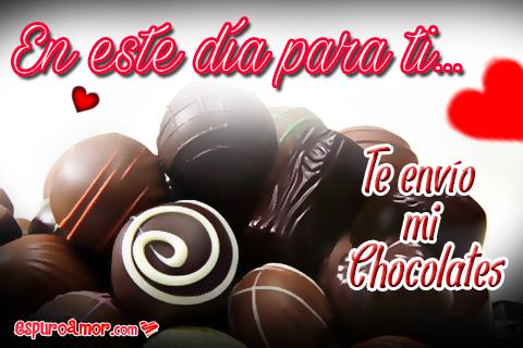 Deliciosos bombones de chocolate