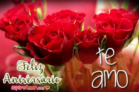 Lindas rosas con te amo
