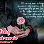 Dedicatorias para Aniversario con Lindas Rosas Rojas