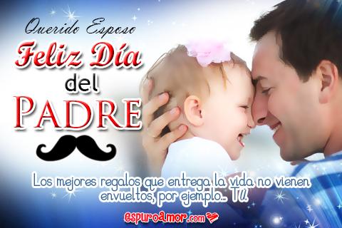 Papito abrazando a su hija recién nacida