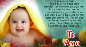Frases de te amo de bebes