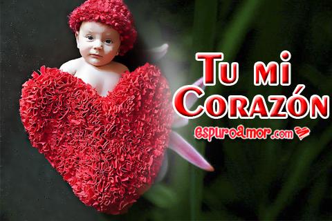 Lindos bebes con corazones hermosos