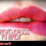 Lindas Tarjetas de Amor con Te Envío Besos para Compartir