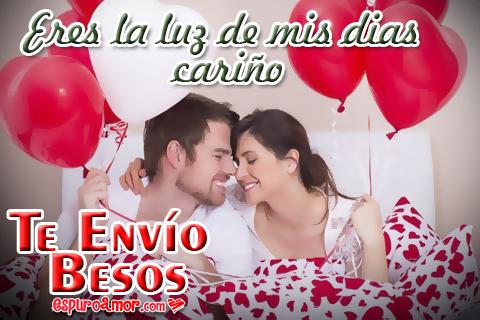 Imágenes de parejas para enviar besos