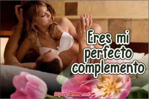 Eres mi perfecto complemento