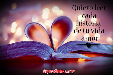 hojas de libro formando un corazón con historia de amor